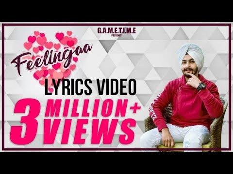 Feelingaa Kay Vee Singh Lyrics Video 2019