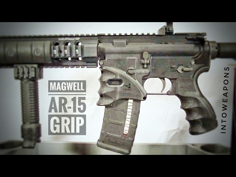 Ar 15 Upgrade 2 Tactical Magwell Grip Youtube