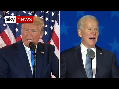 US Election 2020: Result on a knife edge