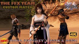 【DFFNT】The FFX Team - New Final Fantasy X Icon and BGMs 【Custom Match】 【4K UHD】