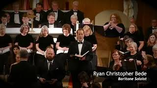 """Bremerton Symphony Presents """"The Messiah"""" featuring Baritone Soloist, Ryan Bede"""