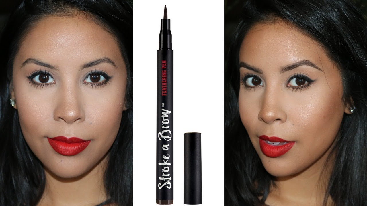 Ardell Brow Pen Demo Review Susie Makeup Youtube