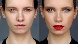 New Way to Wear: Red Lipstick   A Model Recommends