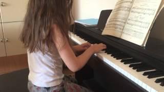Осень _Жанна _первые уроки фортепиано