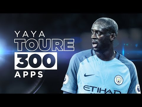 YAYA TOURE 300 GAMES | Best Man City Moments