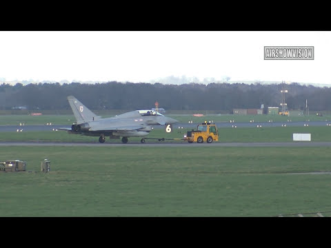 TYPHOON SOS -EMERGENCY LANDING: 9th MARCH 2017 (airshowvision)