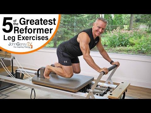 5 Great Reformer Leg Exercises
