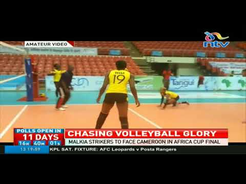Malkia strikers to face Cameroon in Africa cup final