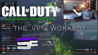 THE VPN WORKED! (MWR PC)