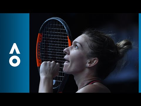 Match point: Simona Halep v Angelique Kerber (SF) | Australian Open 2018