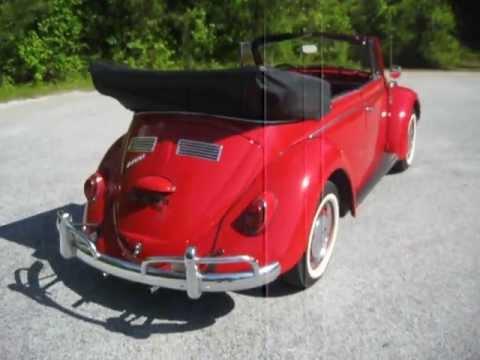 1966 VW Beetle Convertible