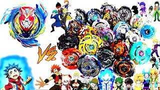 Ul GOD VALKYRIE vs ALL BEYBLADE GOD LAYERS-Let's test it!Beyblade Burst Battle Evolutionベイブレードバースト神