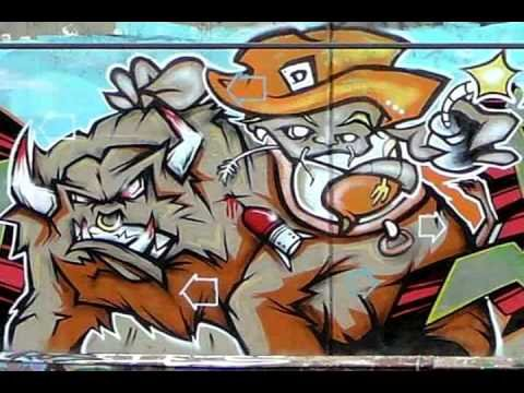 The Best Graffiti of the World - YouTube