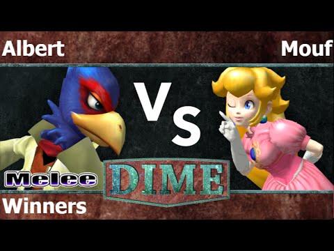 DIME 19 - FX   Albert (Falco) vs SWG   Mouf (Peach) Losers - Melee
