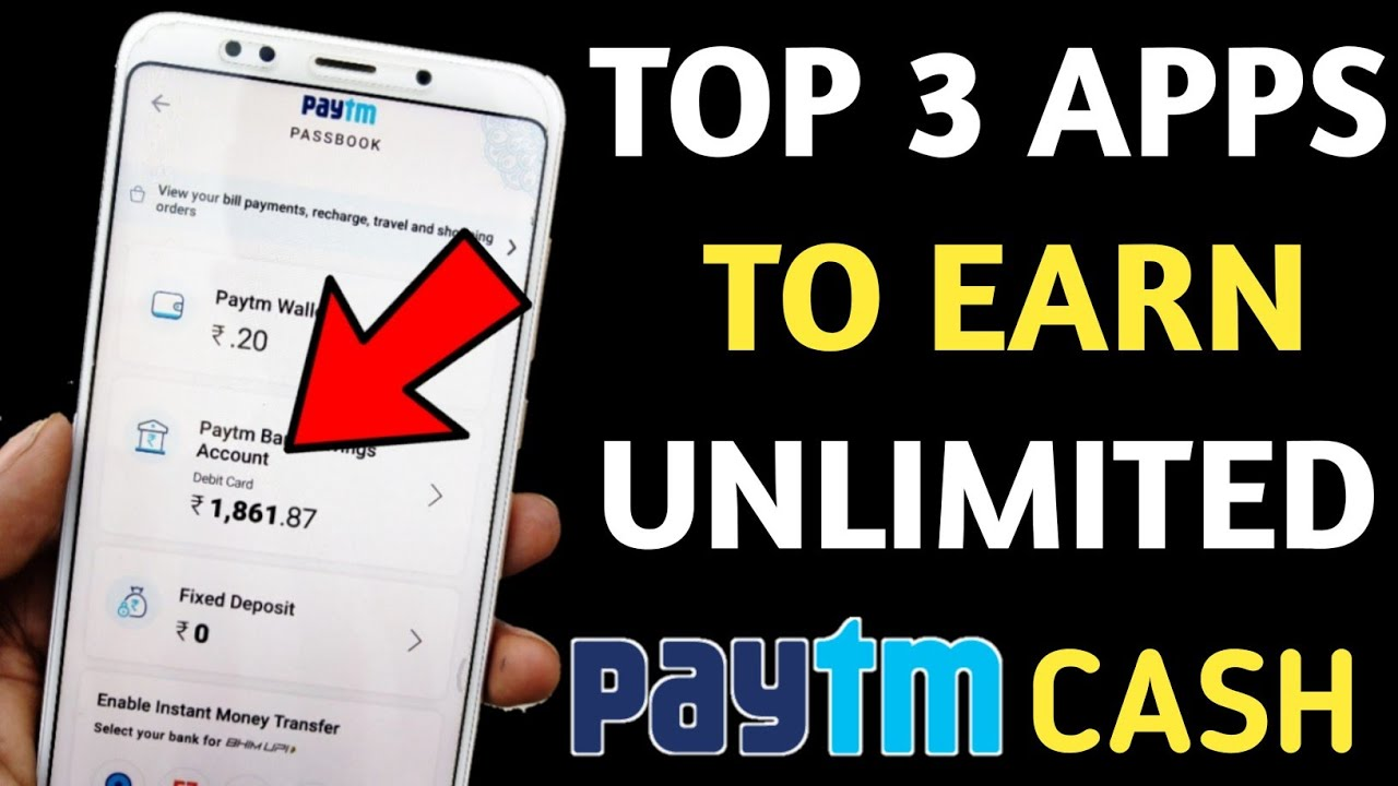 Top 3 PayTM Cash Earning Apps | Android Earning App 2018 | Rs 5000/- Daily  Direct Into PayTM