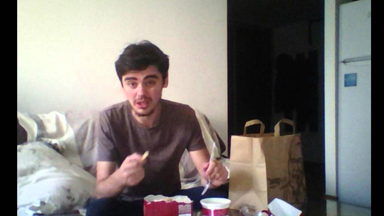Uite cum mananc eu KFC (review,unboxing)
