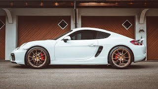 First Modifications On My Porsche Cayman GTS!