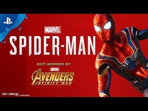 Iron Spider Suit Inspired by Marvel's Avengers: Infinity War Coming