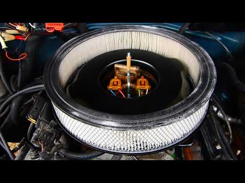 Installing 14 inch open filter on Chevy TBI 88-95 silverado