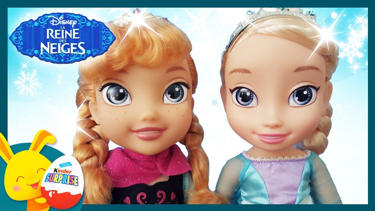 Poup e reine des neiges elsa et anna jouets pour enfants titounis youtube - Anna elsa reine des neiges ...