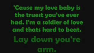 Pearl Jam - Soldier Of Love - Lyrics