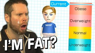 so I played Wii Fit and I'm now sad...