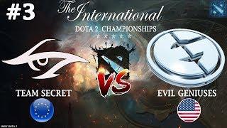 Secret vs EG #3 (BO3) The International 2019
