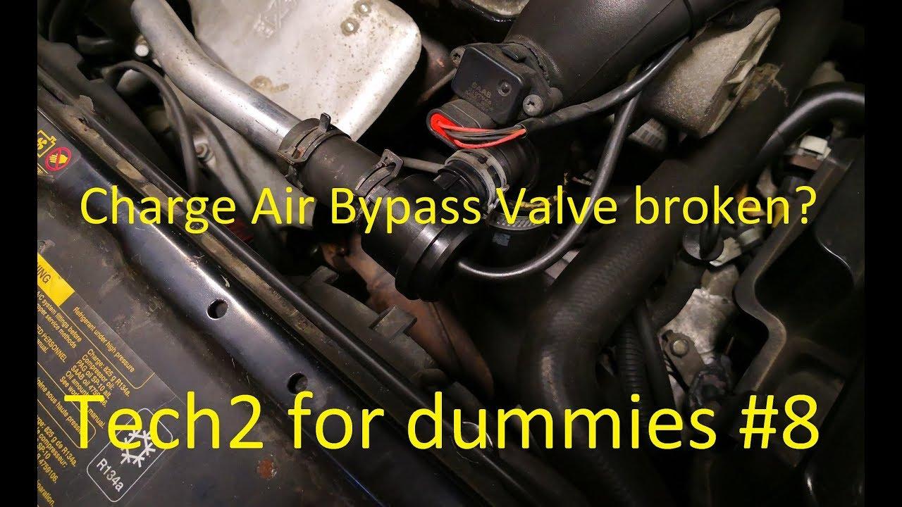 Saab Cars - Tech2 For Dummies - Episode #8 - Broken Bypass Valve