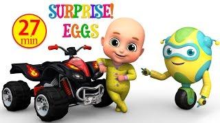 Kids Toys - Monster Bike  Black - Surprise Eggs Toy from Jugnu Kids