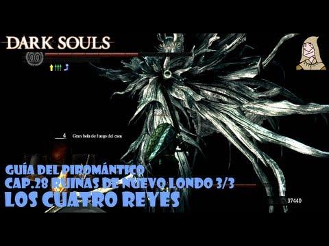 Dark Souls guia: LOS CUATRO REYES - Trucos para matar a este boss || EP 28.3