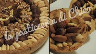 Crostata di frutta secca - Dried fruit tart