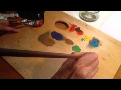 Mezclar colores en la paleta c mo pintar youtube - Colores para pintar ...