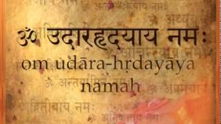 15om udaarahradayaaya namaha   salutations to the large   hearted one