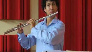 Ibert - piece pour flute seule