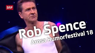 Rob Spence beim Arosa Humorfestival 2018
