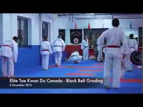 Elite Tae Kwon Do - Black Belt Exam 2013