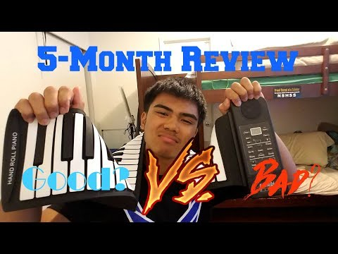 5-Month Review of the Roll-up Piano