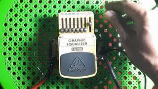 Behringer EQ700 Grafic Equalizer