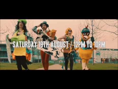 elrow town London outdoor at Queen Elizabeth Olympic Park - Saturday 19th August 2017