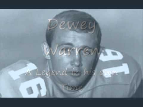 Tennessee Football - Dewey Warren - A Legend in his own Mind