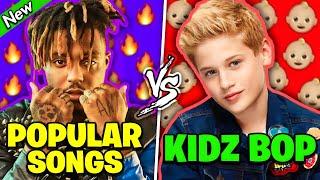 POPULAR RAP SONGS vs KIDZ BOP REMIXES