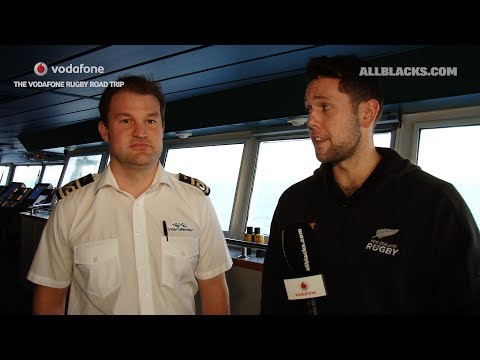 Vodafone Rugby Road Trip: Sailing North