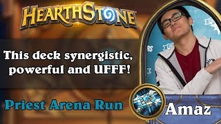 Amaz 12 wins Arena. This deck synergistic, powerful and UFFF!