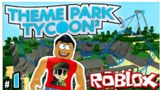 ROBLOX (parque temático Tycoon2EP # 1!!) COM O RAUL