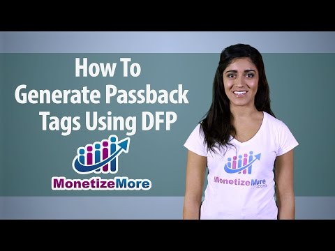 DFP Tutorial Series: How to Generate Passback Tags using DFP