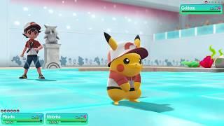 2 jugadores en Pokemon let's go pikachu: doble capitulo