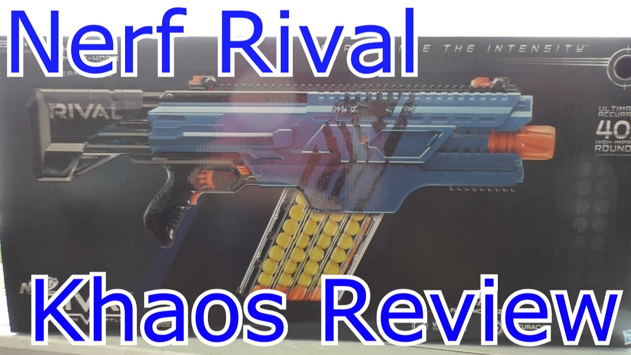 Nerf Rival Khaos Unboxing and Review