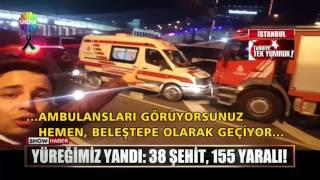 İstanbul - Beşiktaş'taki terör saldırıları!