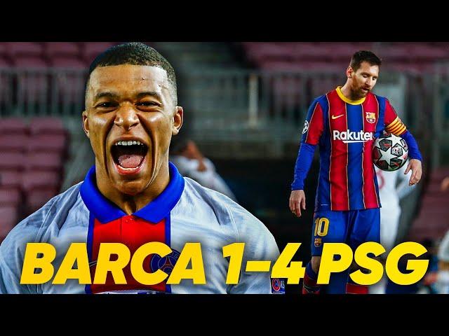 Barcelona 1-4 PSG | MBAPPE DESTROYS BARCELONA AT THE NOU CAMP! | REACTION