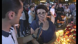 Նա հայ ժողովրդի ատոմային զենքն էր․ քաղաքացիները սգում են Շառլ Ազնավուրի մահը